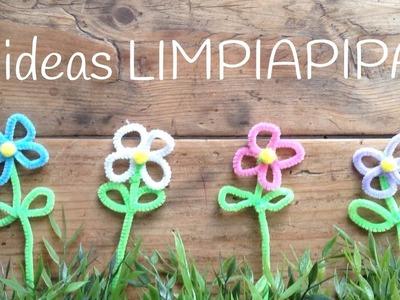 15 Manualidades con LIMPIAPIPAS para niños    Pipe Cleaners Ideas