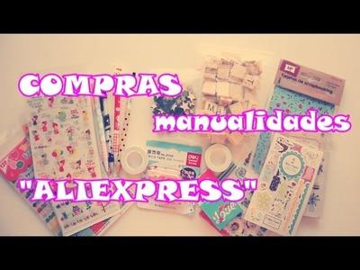 Compras Aliexpress.Manualidades y Scrap