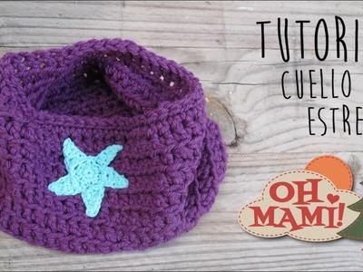 Cuello Estrella para principiantes a Crochet (SUPERFÁCIL)