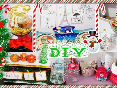 DIY decora tu habitacion para navidad !