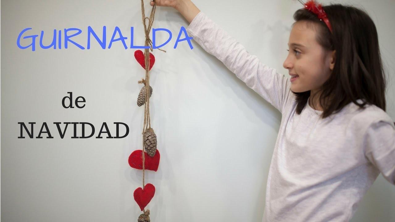 Guirnalda de navidad diy christmas garland my crafts and - Guirnalda de navidad ...