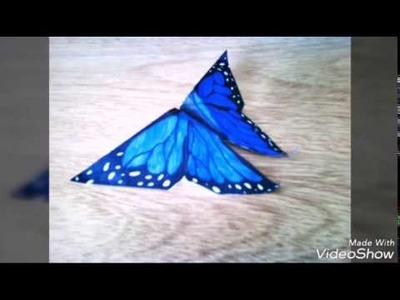 Origami - Como hacer una mariposa