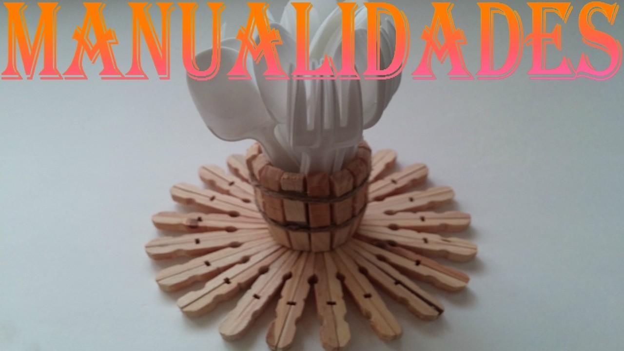 Manualidades pinzas de madera my crafts and diy projects - Bolas de madera para manualidades ...
