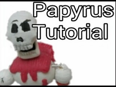 Papyrus Tutorial✔Polymer Clay✔Porcelana Fría (Leer descripción¡¡)