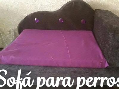 Sofá para mascotas DIY