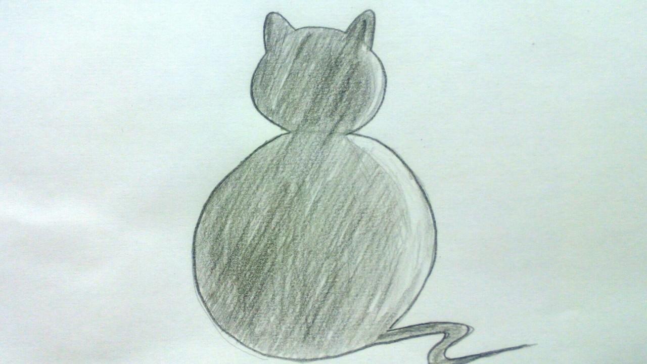 Cómo Dibujar Un Gato A Lápiz Paso A Paso Dibujos De Animales Para