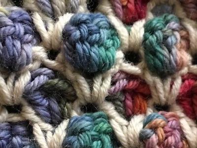 CROCHET: How to Crochet the Moroccan Stitch | Punto Marroquí | La Merceria Crochet
