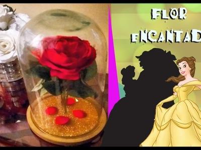 DIY : (( Rosa encantada de la Bella y Bestia)) Beauty and the Beast Enchanted Rose