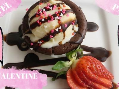 Receta del mejor  LAVA CAKE super facil y economico. PARA ESTE SAN VALENTINE