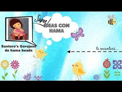 Santoro's Gorjuss de hama beads - Vídeo solicitado. Ideas con Hama