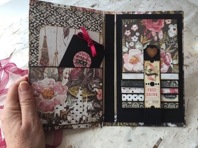 TUTORIAL Scrapbook Photo Album with Detached cover