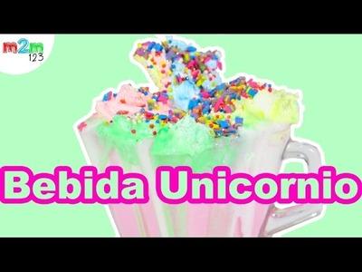 ????    Bebida caliente de unicornio | Unicorn hot beverage | DIY | TASTE TEST