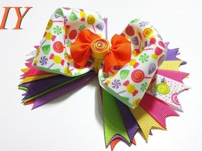 Como Hacer Lazos ???? DIY #80 Lazo Candyland Tutorial
