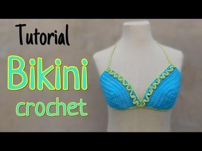 Como tejer una Bikini a crochet (2.2)