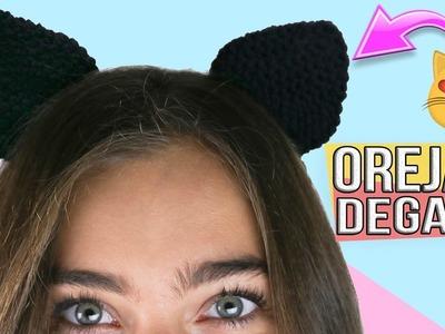 Diadema orejas de Gato ???? Manualidades fáciles