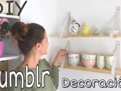 DIY Decoración inspirada en Tumblr