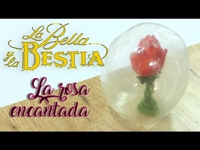 DIY Food Rosa encantada La Bella y la Bestia 2017