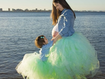DIY: TUTU. Como hacer un tutu para embarazada sin coser