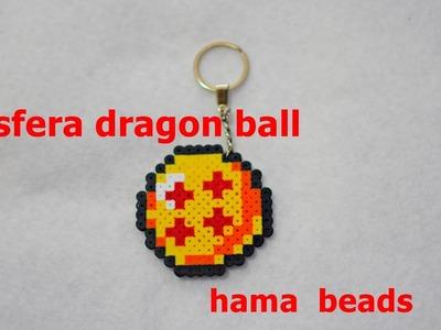 Esfera dragon ball 4 estrellas.Hama beads