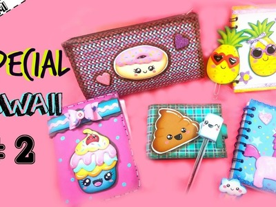 Especial KAWAII #2 (Cartuchera Donut y Agenda Cupcake) | KLOF ????