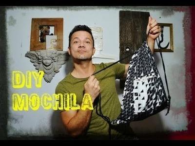 Mochila para gym fácil  - DIY gym backpack