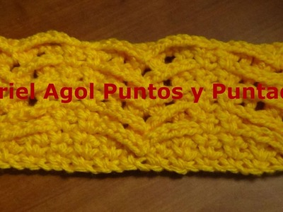 Puntada sencilla y fácil a crochet. Muestra No. 131