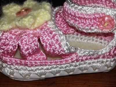 Sandalia para Niña a crochet
