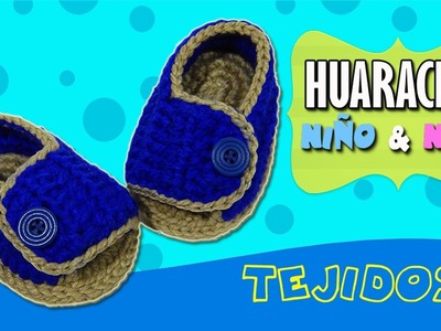 Sandalias, Huaraches tejidos para niño y niña  | PASO A PASO