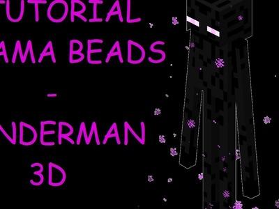 TimeLapse Hama Beads   Enderman 3D