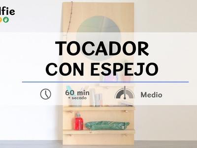 Tocador con espejo · Handfie DIY