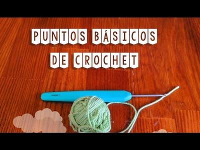 Tutorial de puntos básicos de crochet: punto bajo, medio alto, alto y triple
