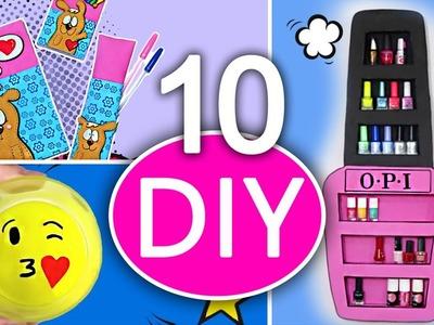 10 increíbles manualidades fáciles paso a paso - simple compilation DIY