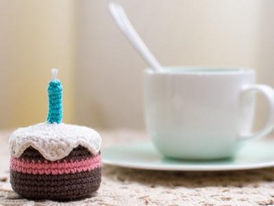 Amigurumi | Como hacer una torta en crochet | Bibiana Mejia Crochet 2017
