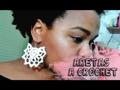 Aretes A crochet. Ganchillo