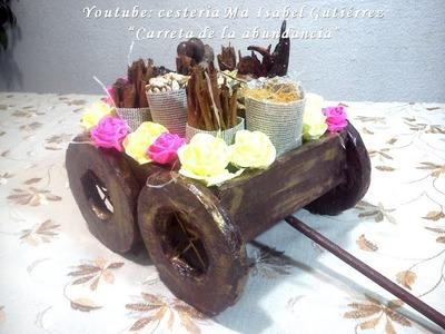 Carreta de la abundancia. DIY