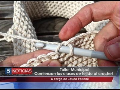 Clases de tejido al crochet   Talleres Culturales