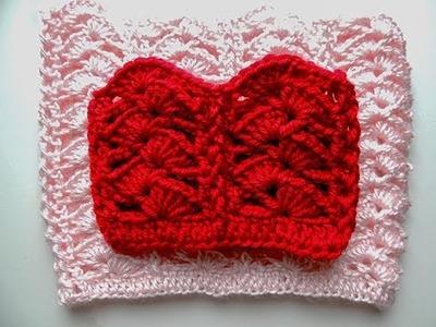 Crochet: Punto Combinado # 19 en Redondo