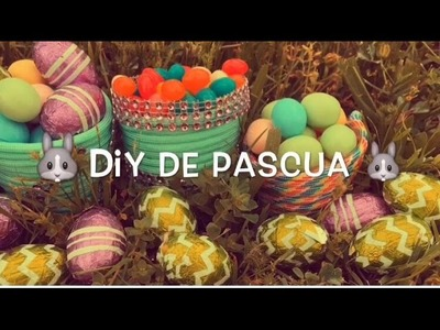 Diy De Pascua! Para hacer con los niños ;) - Manualidades - diy - Tips