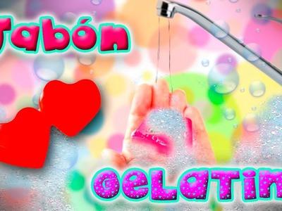 DIY JABON GELATINA - manualidades para hacer con niños - COMO HACER GELATINA DE JABON? - 100prekool