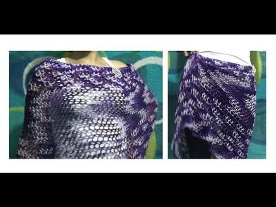 Falda y Capa de Verano a Crochet