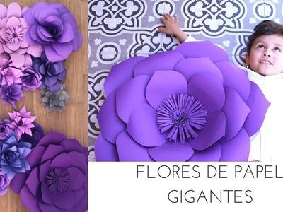 FLORES DE PAPEL GIGANTES. DIY | DECORANDO UNA BODA | Pabla en casa