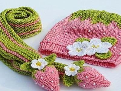 Gorro Tejido en Crochet para niño Kids Crochet