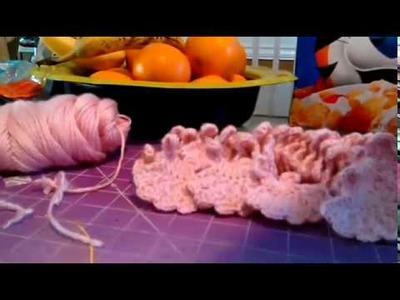Mini Vestidito Tejido a Crochet #3.