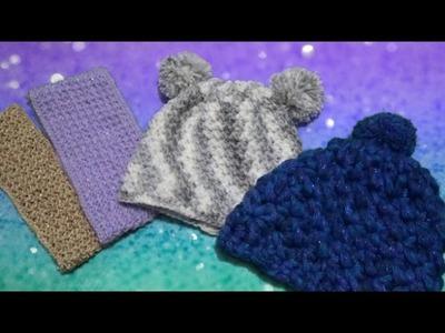 Punto Espiga en Estrella y Aplicaciones a Crochet