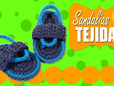 Sandalias Huaraches tejidos a crochet  |  Paso a paso