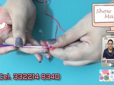 Show Manual 365 (#Estambres.Crochet Llavero Bolsita)