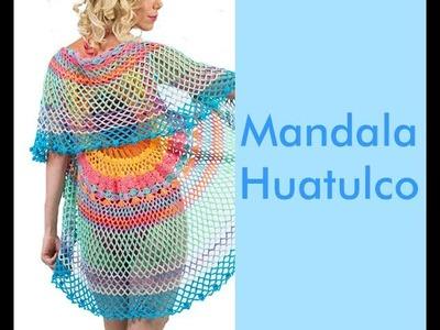 TEJE MANDALA HUATULCO - Crochet Fácil y Rápido