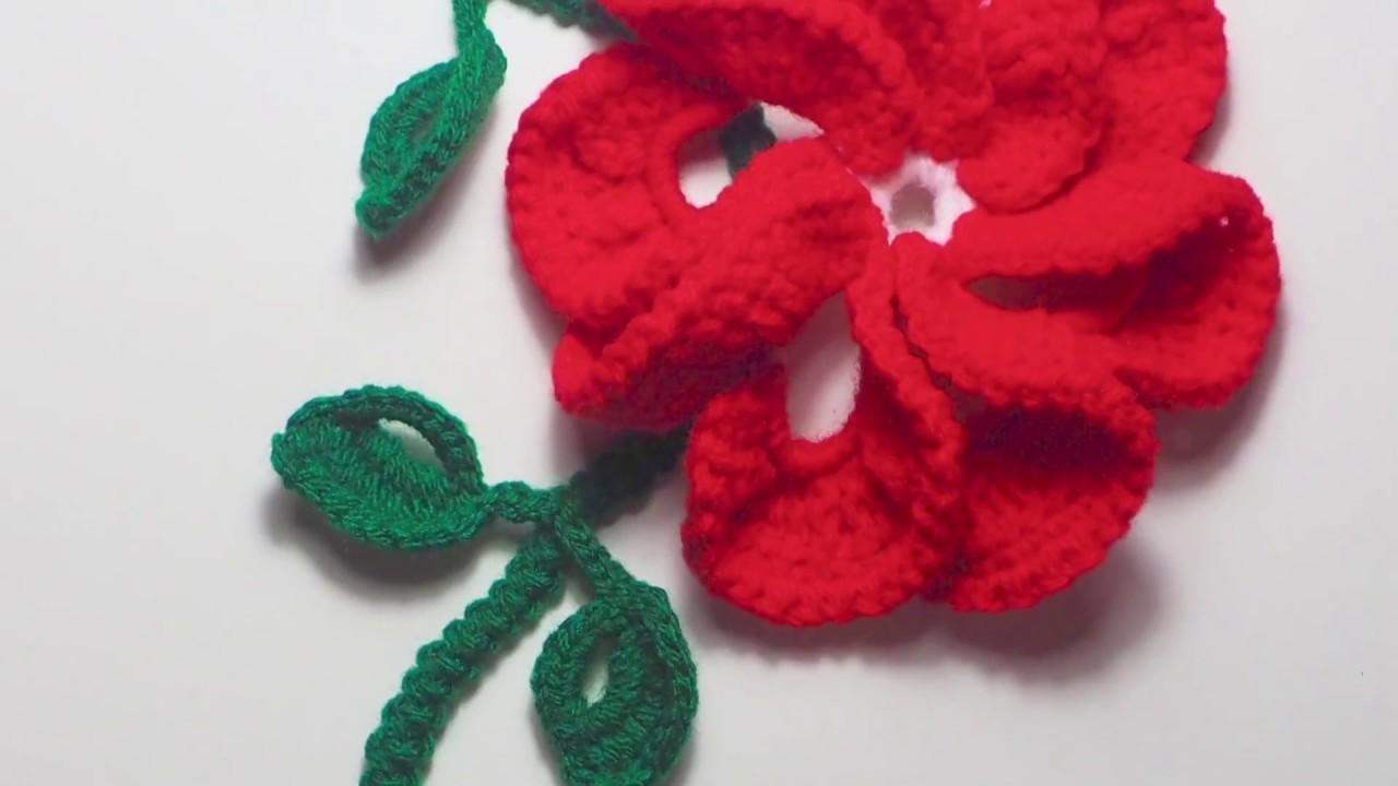 Tutorial Flores de Crochet (Vestido de Verano Parte 1)