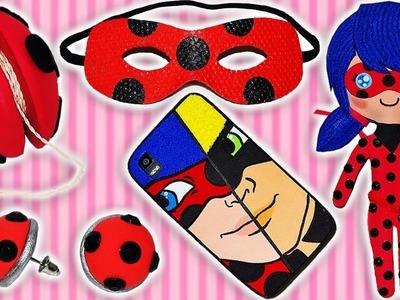 ♥ 5 Manualidades Fáciles Paso a Paso de Miraculous Ladybug Compilation♥