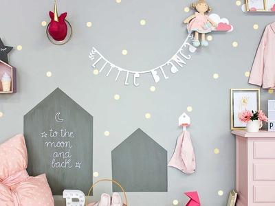 Decoración DIY: la habitación de Blanca